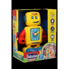 Educational Clock Robot