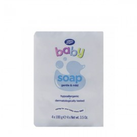 Boots Soap 100g x4
