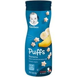 Gerber Puff Cereal Snacks...