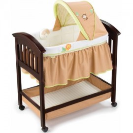 Summer Classic Wood Bassinet.
