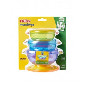 Nuby 4 Stackable Bowls